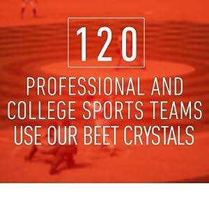 beet crystals, team sports, NBA, NFL, NCAA, football, workout, running, cross country