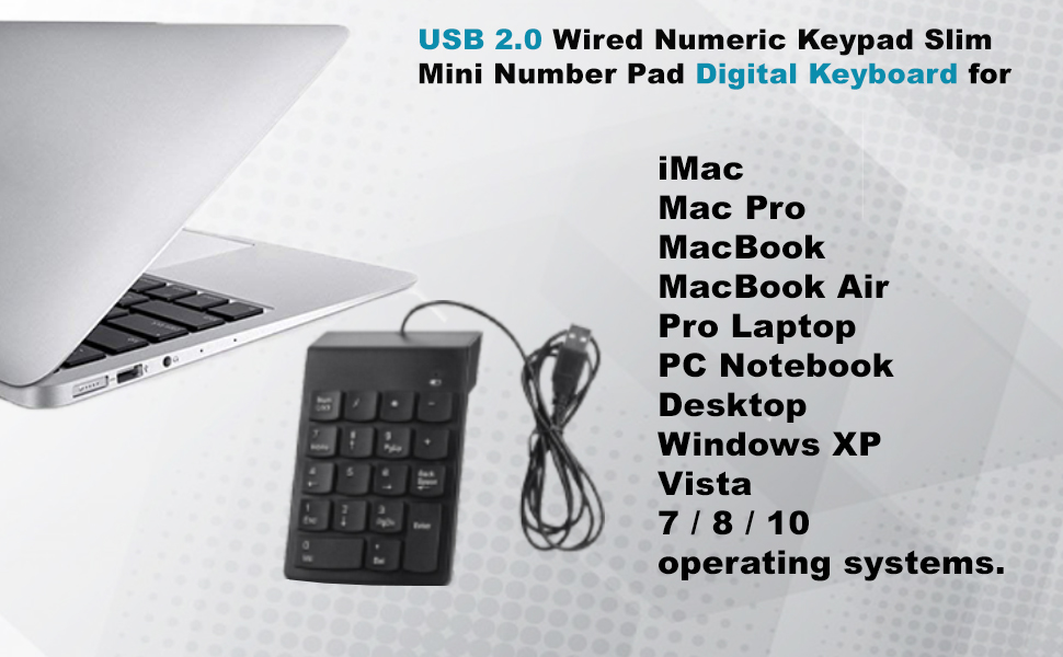numeric keypad with calculator