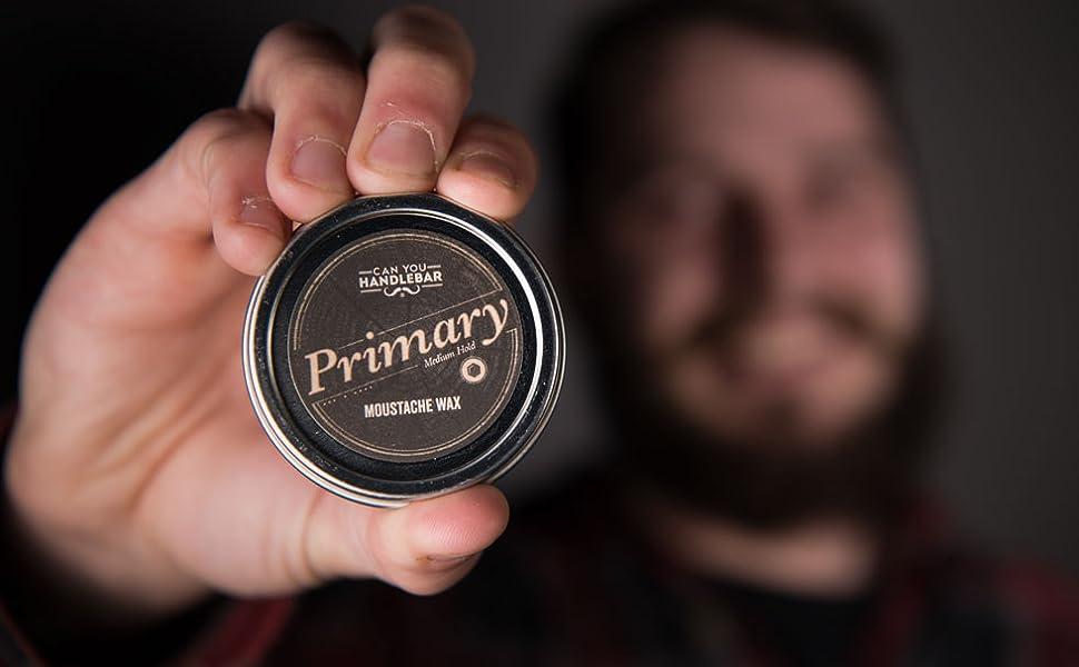 Medium Hold Moustache Wax for Men | Primary Moustache Wax ...
