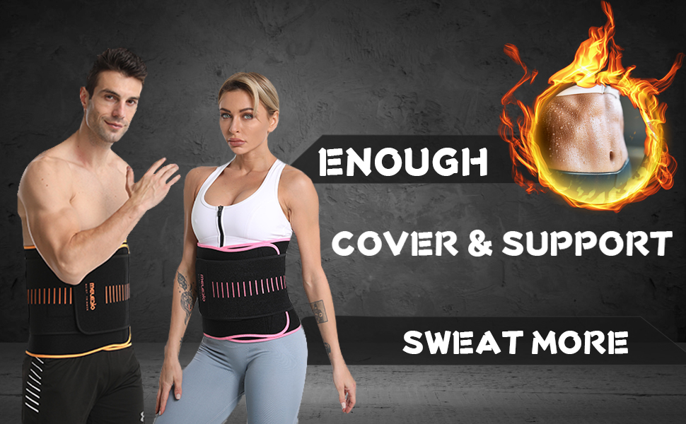 ENOUGH COVER, BETTER SWEAT AND SUPPORT