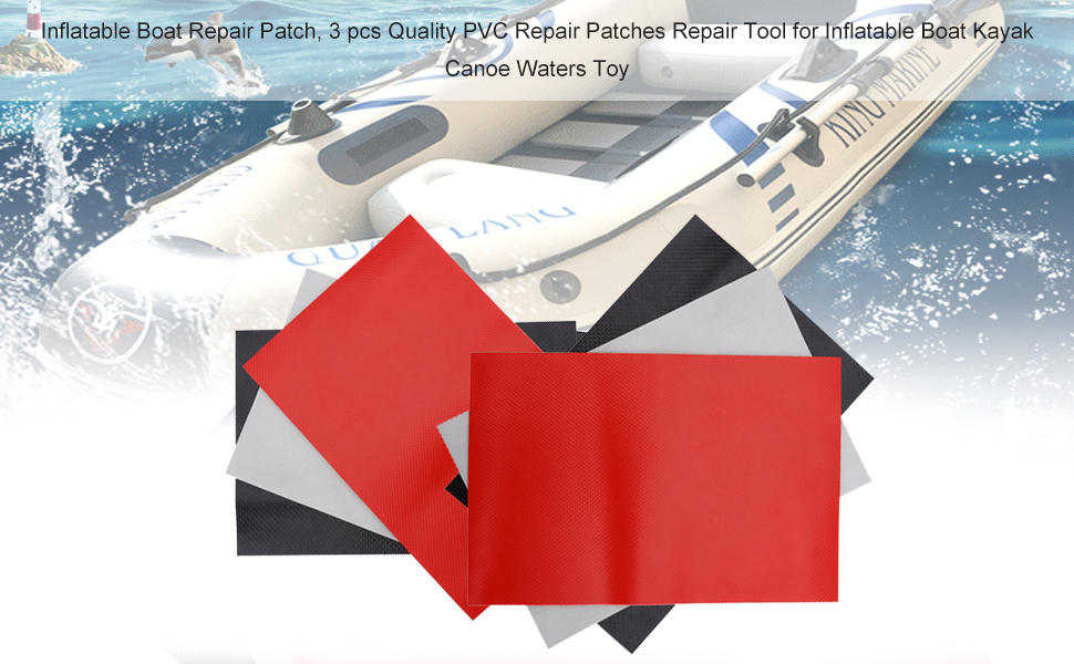 Dilwe Inflatable Boat Repair Patch