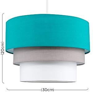 Turquoise hanglamp