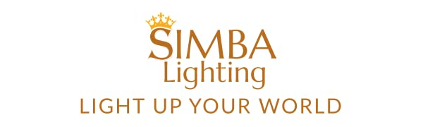 simba lighting logo light up your world slogan