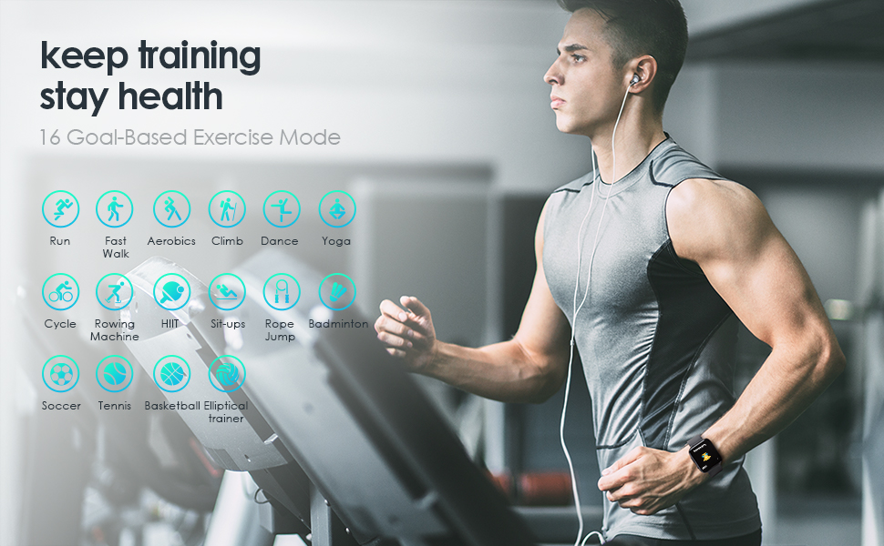 Multi-Sports Mode for workouts