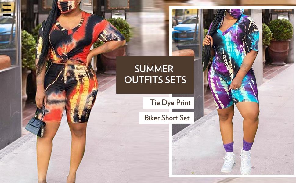Biker Short Set