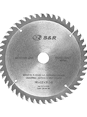 48 T La SNR-carbure Cercle Scie 160 mm