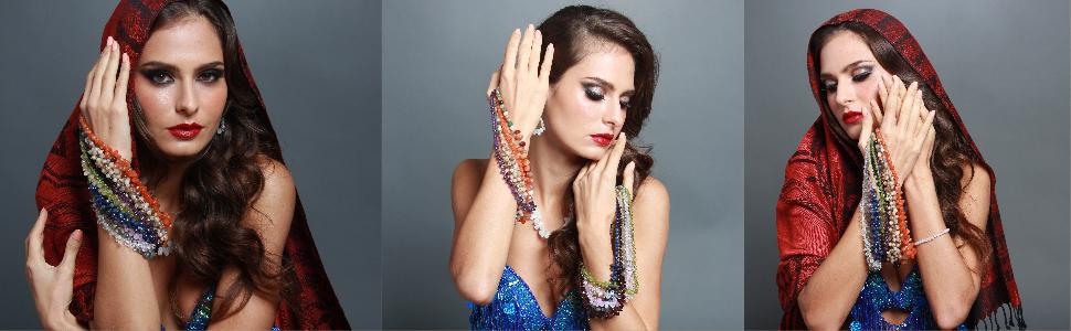 Mystic Self White Moonstone Necklace Fashion Jewelry Gemstone Beaded Crystal Healing Birthstone