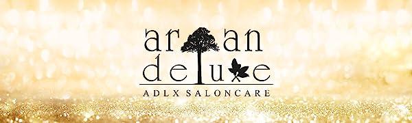 Logo der Marke Argan Deluxe ADLX Saloncare
