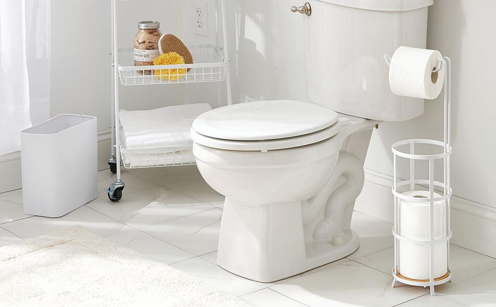 Toilet Paper Holder and Dispenser