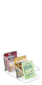 Linus Packet Organizer Large  Pouches, Dressing Mixes, Hot Chocolate, Rice, Taco Seasoning Condiment