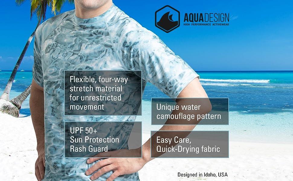 short sleeved rash guard surf shirts men sleeve mens rashguard top uv tee surfing adult spf man