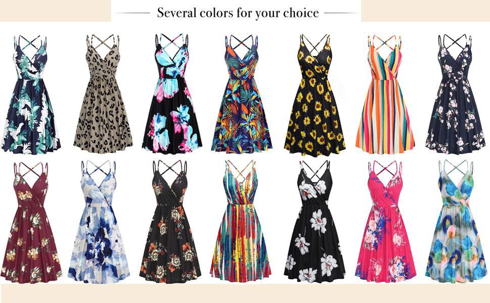 women sleeveless sundress