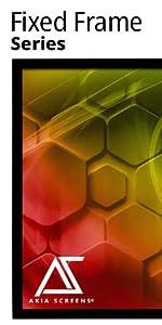 Akia screens Fixed Frame CineWhite UHD-B 180 degree viewing angle home indoor ISF Greenguard gold