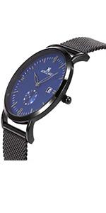 SIBOSUN Wrist Watch Stainless Steel