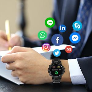 watch reloj inteligente hombre