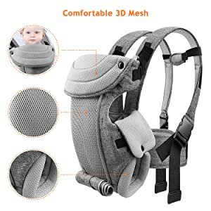 baby carrier airflow