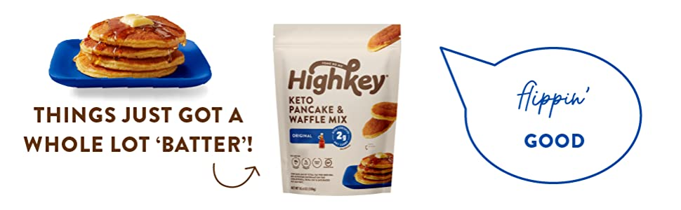 keto food foods snack low carb snacks pancake pancakes waffle waffle mix baking highkey snacks