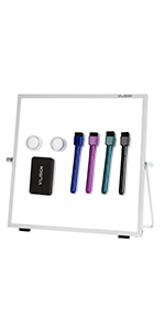 VUSIGN Magnetic Portable Double-Sided Easel Board