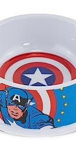 Captain America Dog Bowl