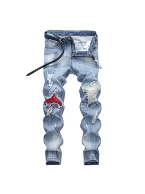 Skinny Fashion Street Jeans