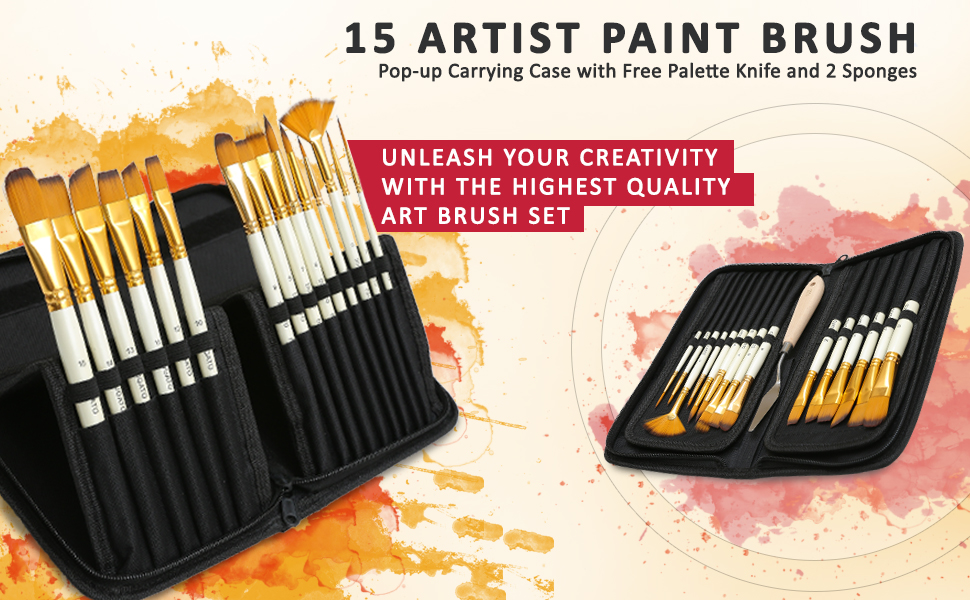 Artist paint brush