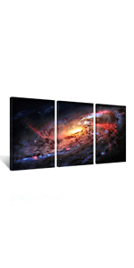 universe pictures for wall,clouds modern decorations for home, astrology decor, astronomy decor