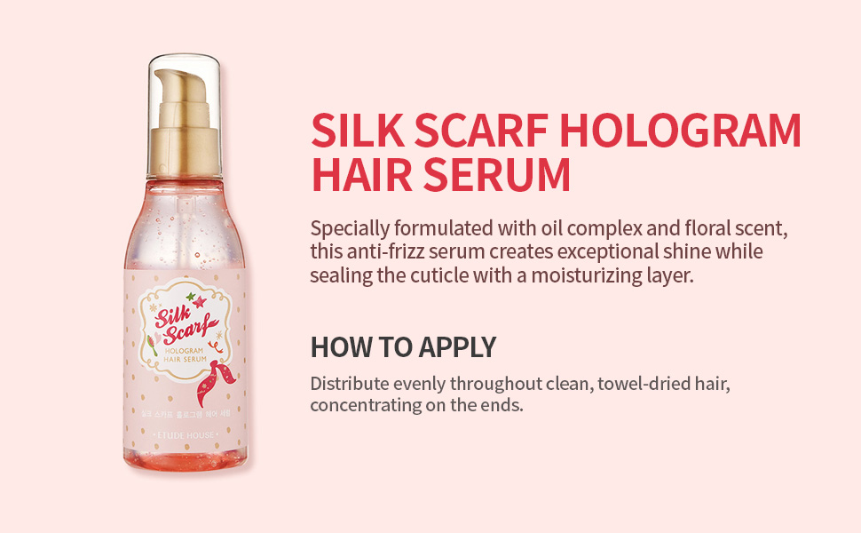 Silk Scarf Hologram Hair Serum 120ml