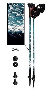 York Nordic Ocean Wave Trekking Pole