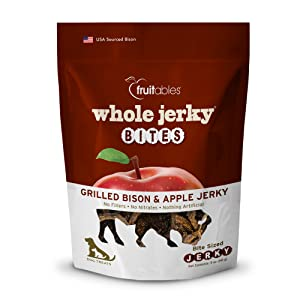 grilled bison and apple jerky