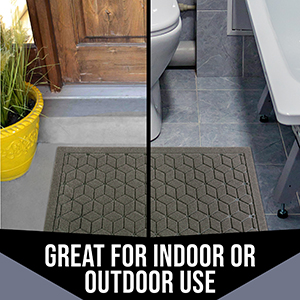 Rubber Doormat mat door rug outdoor indoor front black doormat