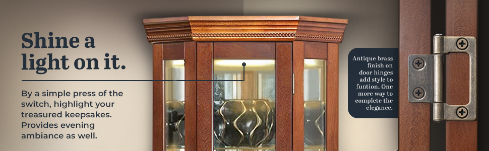 curio cabinets display cabinet with glass doors corner curio cabinets