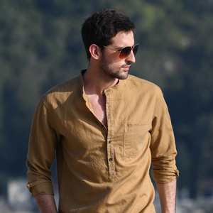 Classic Fit Henley Top