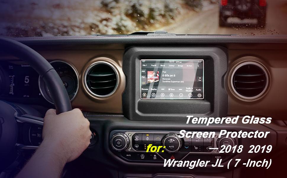 2020 jeep gladiator screen protector