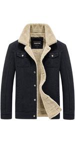 warm fur collar fur collar jacket men sherpa lined jacket men coats sherpa coat men men army jacket