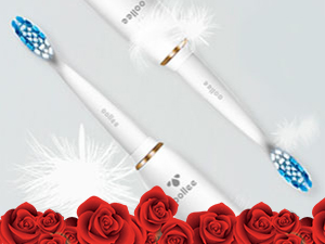 OOLLEE Electric Brushes Rechargeable Toothbrushes Family Valentine's Day Gift for Her Him Kids Love