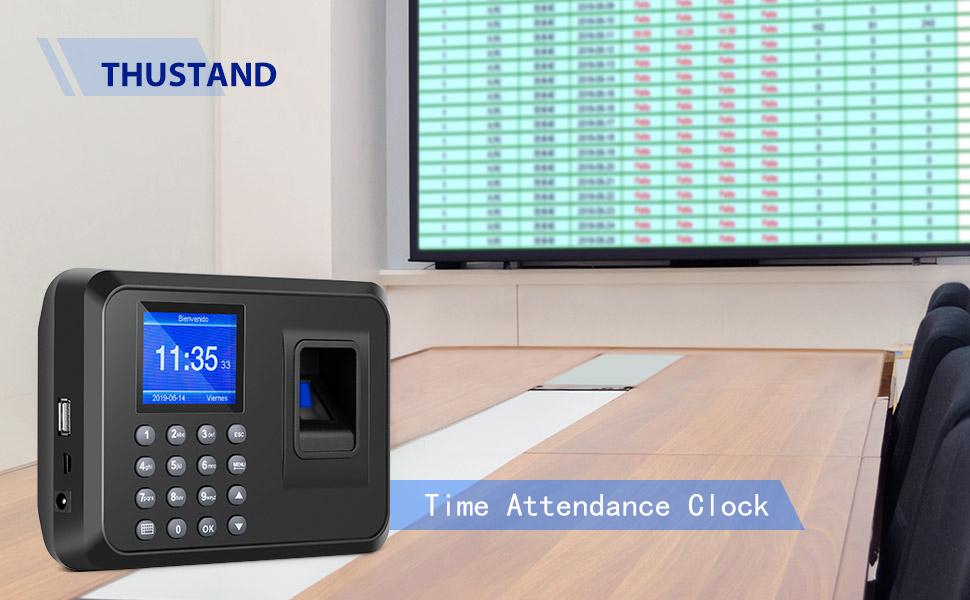 Digital Fingerprint Assistance Machine Fingerprint Access Control Device Employee Time Attendance