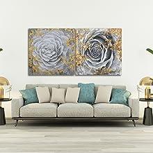 Flower Wall Art For Living Room