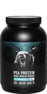 nu3 Proteína de arroz | 800g de fórmula sabor neutral | 80 ...