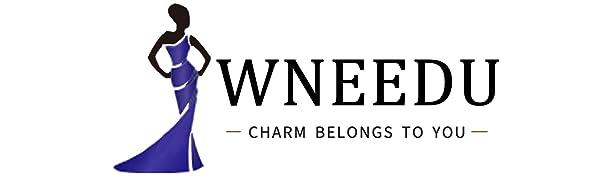WNEEDU Women's fashion tunic tops