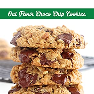 Oat flour choco chip cookie