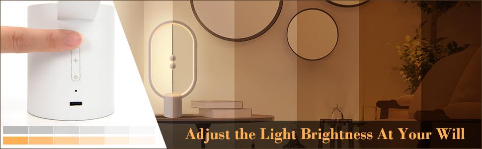 adjusting the brightness