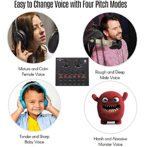 4 kinds of voice changes