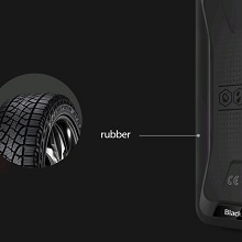 smartphone with rubber