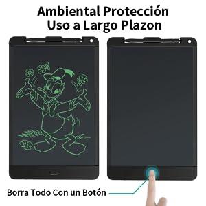 13 Pulgadas Tableta Gráfica Dibujo Tablero de Escritura LCD con ...