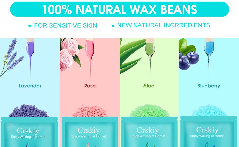 hard waxing beans kit