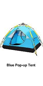 omedelbart pop-up tält campingtält