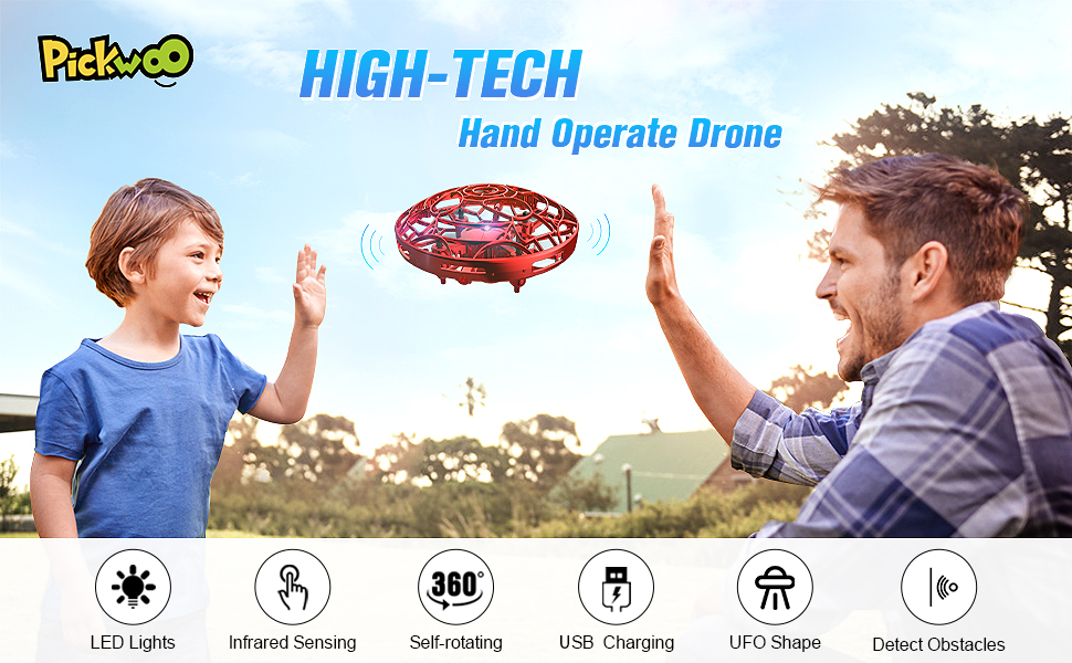 pickwoo hand operated drone
