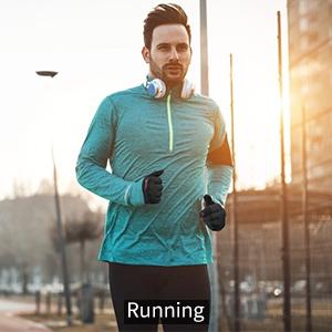 Mens Running Gloves Touchscreen