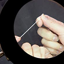 Inspect each piece by hand