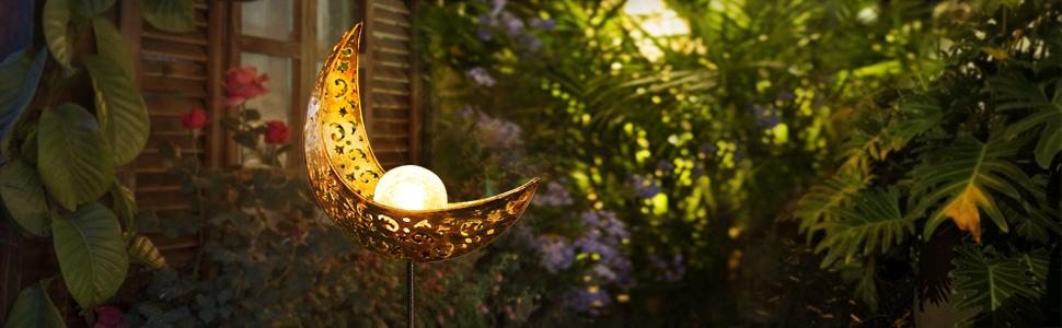 EOYIZW Solar Lights Outdoor Decorative Light up Your Garden